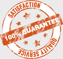 100 percent guarantee